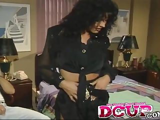 Curvy model wet pussy passionately licked while she moans