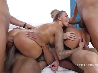 Katrin Tequila and Juelz Ventura Group Sex