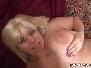 Blonde BBW Tiffany Blake Heavy Fat Tits POV
