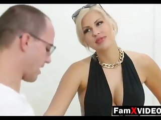 Steamy mommy pummels son-in-law and trains daughter-in-law - Total Free Mother Swelling Movies at FamXvideos.com