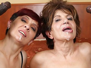 Grannies Hardcore Fucked Interracial Porn thither Old Women sex