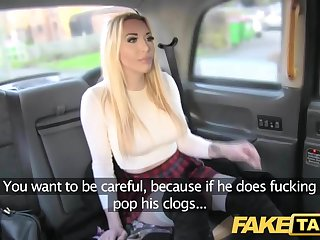 Fake Taxi approving fuck anal sex and huge facial be beneficial to blonde