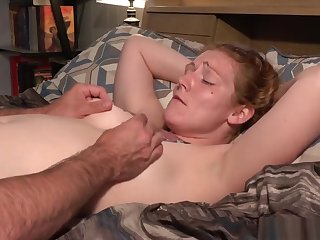 Redhead Milf Ivy having multiple orgasms while her pussy is sporadic out of order