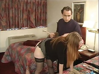 1210854 Julie Simone far nylons spanked hard by her master 240p