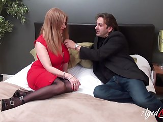 Bloodshed hot gaffer granny Lily May has an affair with younger man