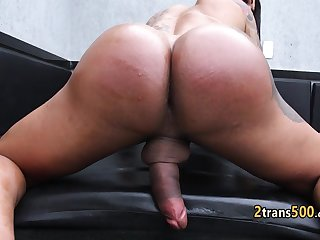 Tranny experienced hard sex shag