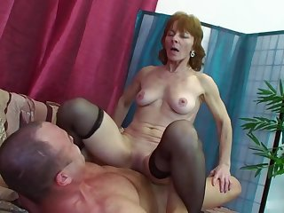 Ivet Is Well Procure Her Sixties - granny amateur porn