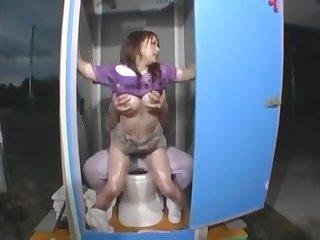 Japanese toilet prank