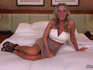 Gorgeous mature came on every side the casting on every side fuck as wild