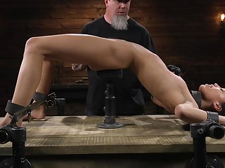 Real submissive joyless Alexis Tae needs some really horny scurrility