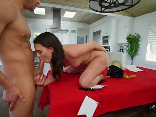 Impressive nude porn in POV with a lean unladylike