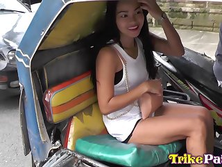 Fantastic Filipina cowgirl with big bubble ass Nobles is made to ride cock