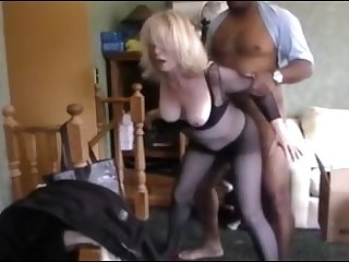 Blonde mature wife get fucked wits bbc and hubby watch