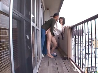 Quickie fucking all over the apartment less Japanese infant Anri