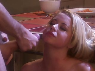Holly Morgan moans while having her pussy increased by mouth stuffed