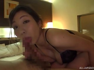 Massive pleasures for the hot Japanese catholic on every side such flawless POV