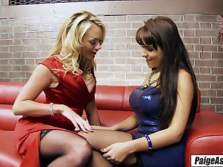 Paige Ashley takes phase abroad on rub-down the diocese lesbian entertainment