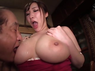 Asian Curvy Bit of San Quentin quail Fucks With Age-old Geezer