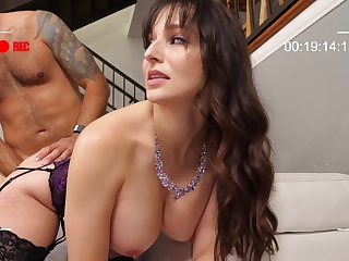 Chuck The Cuck brunette mom Lexi Luna gives sloppy uncultured deepthroat part 02
